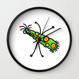 Virus Doodle Wall Clock