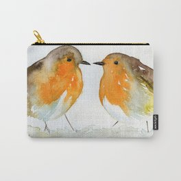 Robins in Love Carry-All Pouch