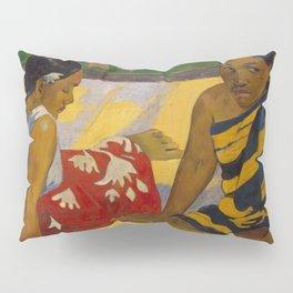"""Paul Gauguin """"Femmes sur la plage (Women on the beach)"""" 1892 Pillow Sham"""