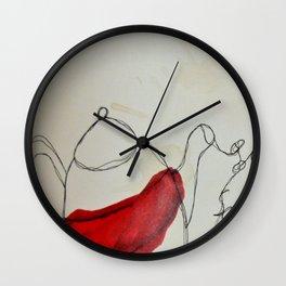 Tea Saves Wall Clock