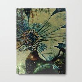 Portrait of a Woman: Planetary Metal Print