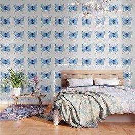 Blue Butterfly Watercolor Butterflies Animals Wallpaper