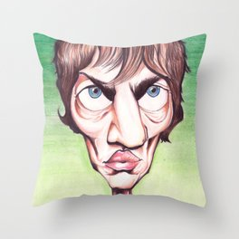 Richard Ashcroft The Verge Throw Pillow