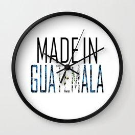 Made In Guatemala Wall Clock