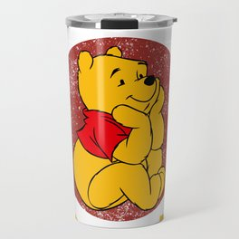 Pooh Stitch Aristocats Friends Classic Design Travel Mug