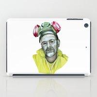 heisenberg iPad Cases featuring Heisenberg  by Rocío Gómez