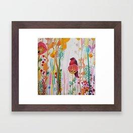 calme Framed Art Print