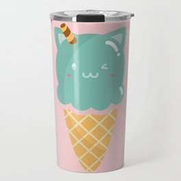 Mint Ice-cream Travel Mug