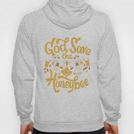 God Save the Honeybee Hoody