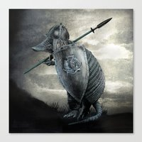 eric fan Canvas Prints featuring Armadillo by Eric Fan & Viviana Gonzalez by Viviana Gonzalez