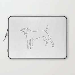 Beagle (Black) Laptop Sleeve
