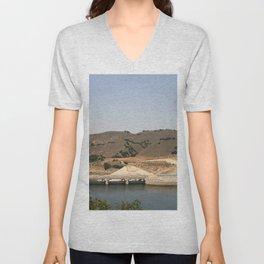Bradbury Dam Unisex V-Neck