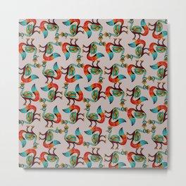 egypt pattern Metal Print