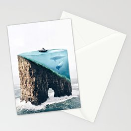 Mystical Island Stationery Cards