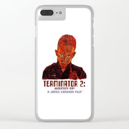 Terminator 2: Judgment Day Clear iPhone Case