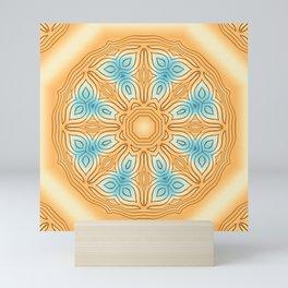 Sea Beach Summer Kaleidoscope Abstract Pattern Mini Art Print