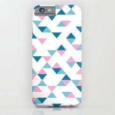 Triangles Blue and Pink Slim Case iPhone 6s