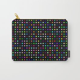 Big Hirst Polka Dot Black Carry-All Pouch