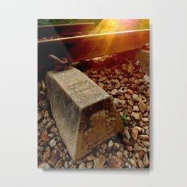 The Humble Rail Metal Print