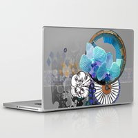 orchid Laptop & iPad Skins featuring Orchid by Sabah