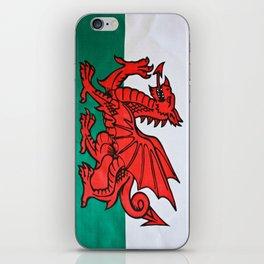 The Welsh Dragon iPhone Skin