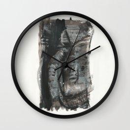 Black fantasy Wall Clock