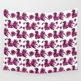 Roosters and Roses SC Wall Tapestry