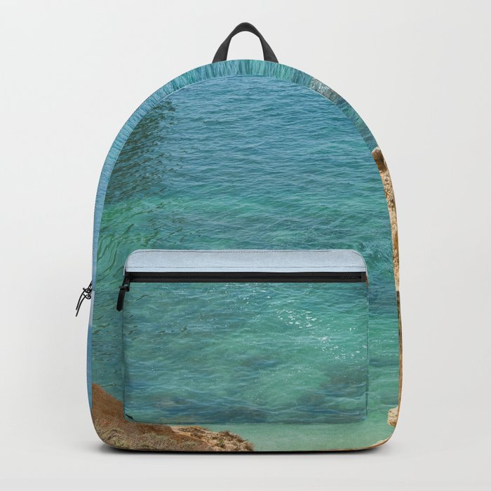 A small inlet suitable for swimming Backpack