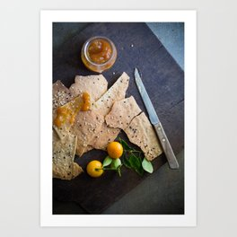 Crackers & Jam Art Print