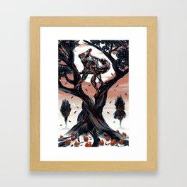Coexist Framed Art Print