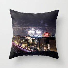 Wrigley Field Long Throw Pillow