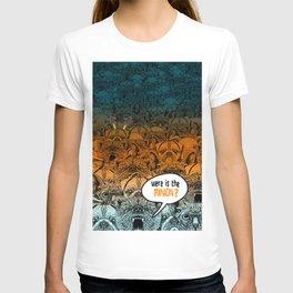 Were is the minion ? T-shirt