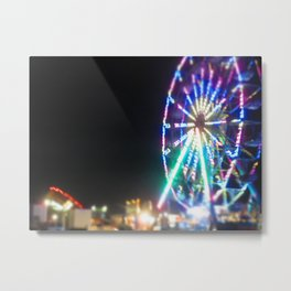 The Fair of Light and Wonder Metal Print