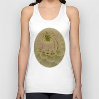 dahlia Tank Tops featuring Dahlia by Wealie