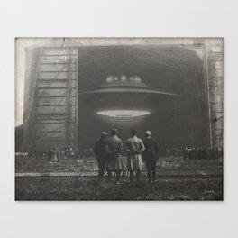 The Unveil Canvas Print