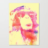 chill Canvas Prints featuring Chill by orangpalsu