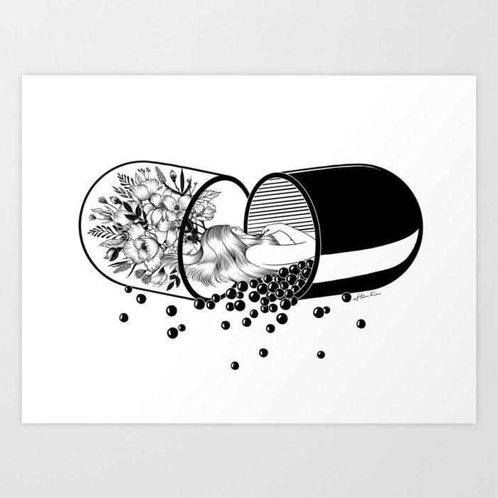 Sleep Forever Art Print