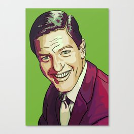 Green Van Dyke Canvas Print