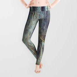 Wood Texture Leggings