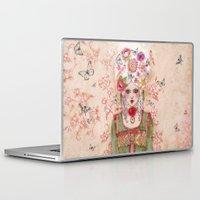 marie antoinette Laptop & iPad Skins featuring Marie-Antoinette by Minasmoke