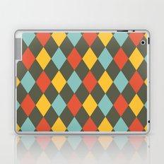 Grey Argyle Laptop & iPad Skin