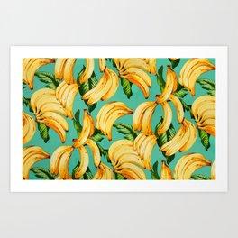 If you like fruit, eat it all Art Print