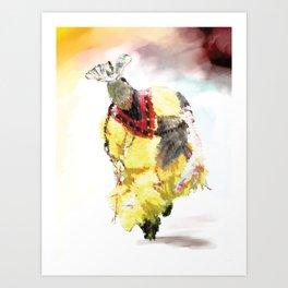 Digital Indian 15 Art Print