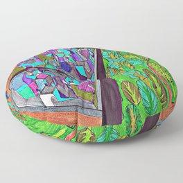 City Divide Floor Pillow