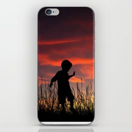 The Beginning of a Journey iPhone Skin