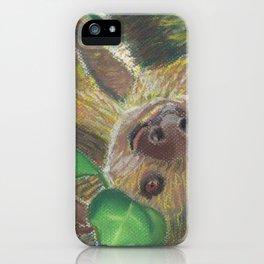 Suzie Sloth iPhone Case