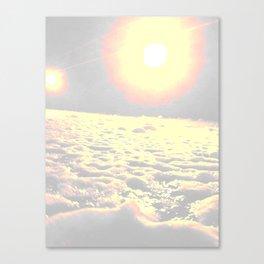 sun it rises Canvas Print