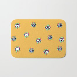 Geometric Humans Bath Mat