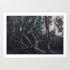 Loving tree Art Print