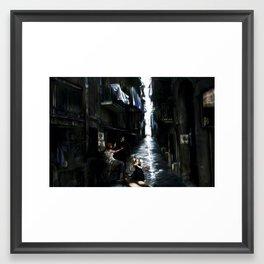 trynottobelonghere Framed Art Print